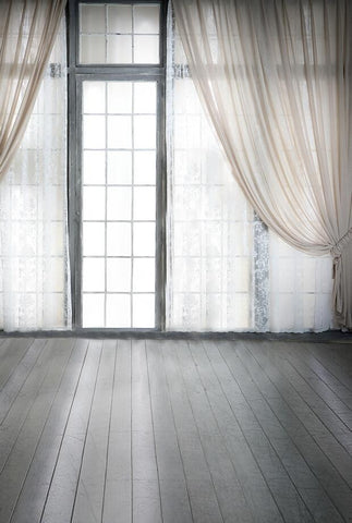 Backgrounds For Photo Studio Photo Background Cloth Photo Background Wooden Floors Double Curtains Windows