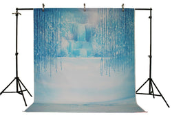 Life Magic Box Vinyl Ice Backdrop Ice Backdrop Ice Backdrop for Baby Photos Wedding Photography