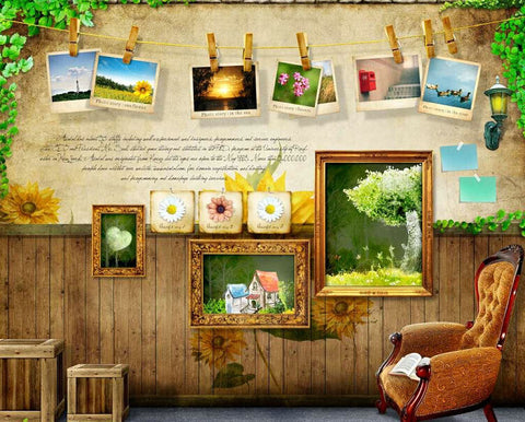 Photography Backdrop Wooden Floor Fondo Fotografico Background Support Amy-Wooden-024