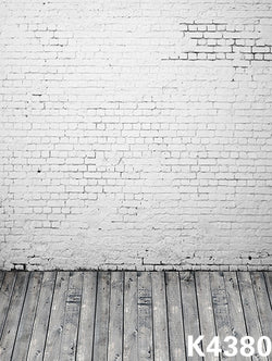 galinha pintadinha kidsfond studioclothphoto background 220cm * 150cmWood floors, white brick wall