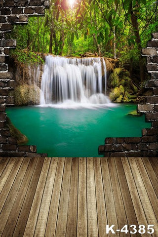 Floor Photographic Background Fabric Photography Backdrops 300Cm*200Cm Wood Flooring  Wall Falls