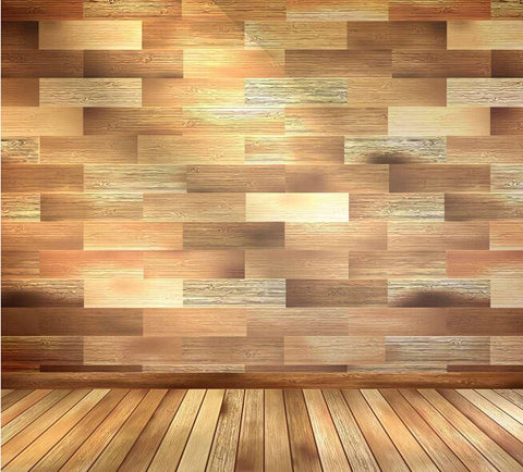 Wood Floor Backdrop Fundos For Photographic Studio Background Stand Amy-Wooden-088