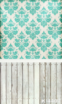 Photography Backdrops studio Background fabric backdrops 220Cm * 150Cm white Wood Green Flower Wall