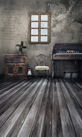 Photography Backdrops Old Wooden Interior Bright Wood Brick Wall Backgrounds For Photo Studio 3637