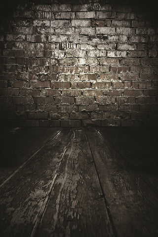 Photography Backdrops Black Wood, Brick Background Fz1 Photo Studio Mh-2