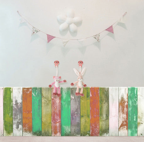 Photography Backdrops Hand Painted Background Small Wood Faded Flags Cm15-S-248