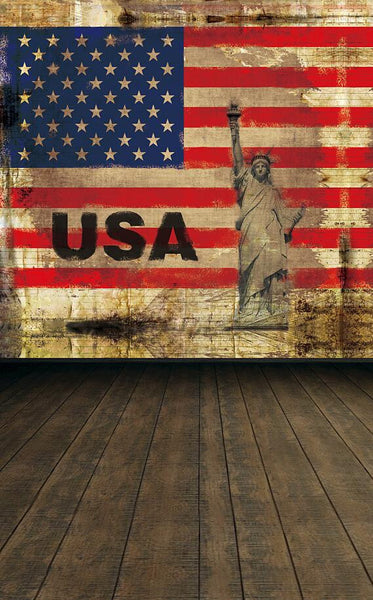 Camera Fotografica Fundo Fotografia Cloth Photo Background Wooden Floor Wall Nd Goddess Merican Flag