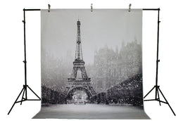 Life Magic Box Vinyl Tower Photo Backdrop Wedding Photo Backdrops Snow Background for Photography