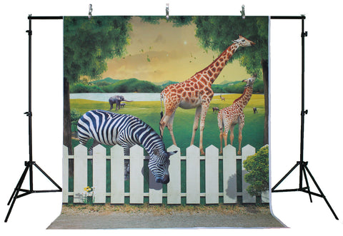 Life Magic Box Vinyl Animal Backdrop Photos Wallpaper Photo Background Backgrounds Photography