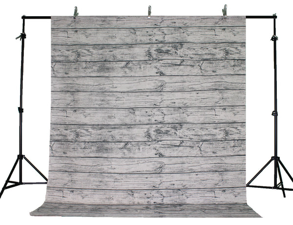 LIFE MAGIC BOX Linen Cotton Material Washable Wrinkle-free Wood Backdrops Photography Backdrops