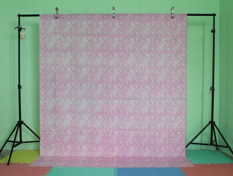 LIFE MAGIC BOX Linen Cotton Material Washable Pink Tablecloth Photo Backdrops Cool Backgrounds