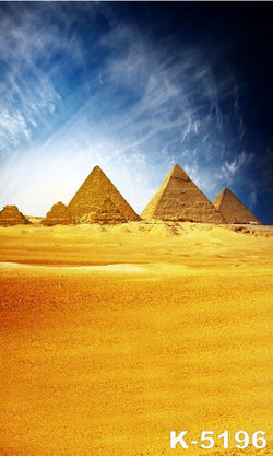LIFE MAGIC BOX Vinyl Western Desert Backdrop Photo Backdrop Studio Background Pyramid