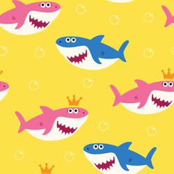 LIFE MAGIC BOX Baby Shark Birthday Photo Background for Home Interior