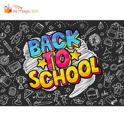 Backdrops Banner Background Back To School Students Photoshoot Video Studio Photobooth