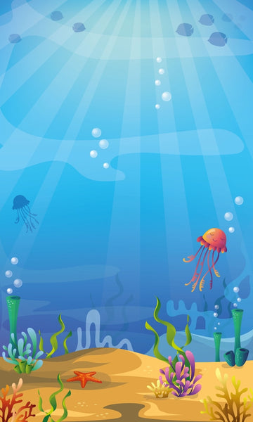 LIFE MAGIC BOX Background Photography Under Sea Jellyfish Bambi Custom Wallpapers