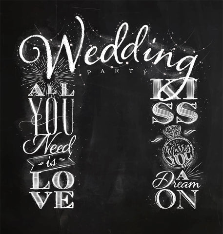 LIFE MAGIC BOX Wedding Black White Studio Fotografico Photocall Custom Backdrop Photography