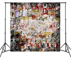 LIFE MAGIC BOX Graffiti Backdrops Backgrounds for Photography Vinyl Photoshoot Vintage Wallpapers 2