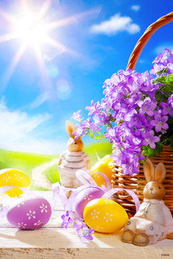 LIFE MAGIC BOX Easter Photo Background Photography Backdrops Photocall for Photo Studio 08