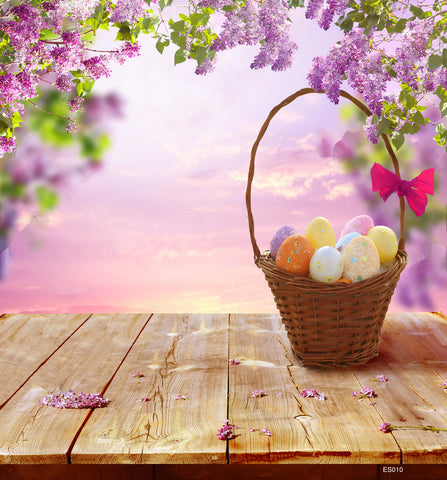 LIFE MAGIC BOX Easter Basket Soft Fabric Photography Backgrounds Photo Booth Backdrops