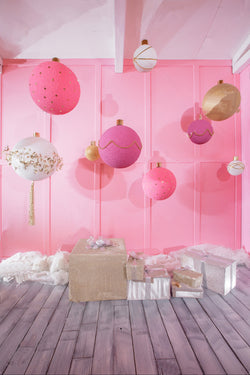 LIFE MAGIC BOX Vinyl Pink Background Photo Prop Floors and Backdrops Baby Photo Backdrop