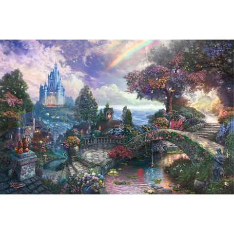 LIFE MAGIC BOX Vinyl Dream Castle Cute Backgrounds Infant Photography Backdrops Rainbow Backdrop