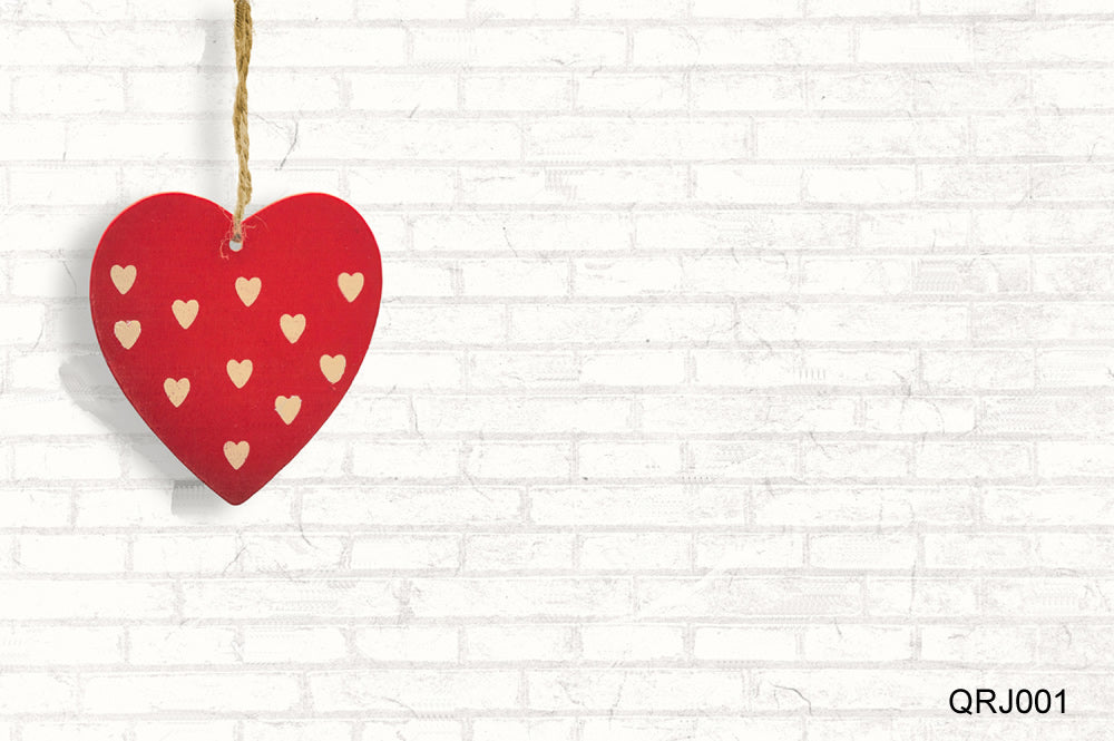 Life Magic Box White Brick Wall Valentines Backgrounds