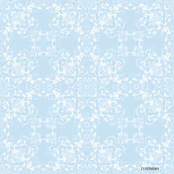 PHSFUBEL Seamless Wrinkle-Free Washable Blue Background Pattern Style Backdrops HD Backdrops