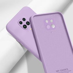 Liquid Silicone Case For Xiaomi Mi Note 10 Pro 9 SE 9T Pro A3 A2 Lite Slim Soft Cover For Xiaomi Redmi Note 9s 8 Pro 7 8T 7A 8A