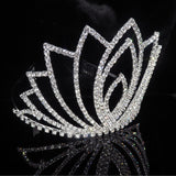 Rhinestones Bride Tiara Head Hair Crown Headpiece Headband Bridal Shower Bachelorette Party Wedding