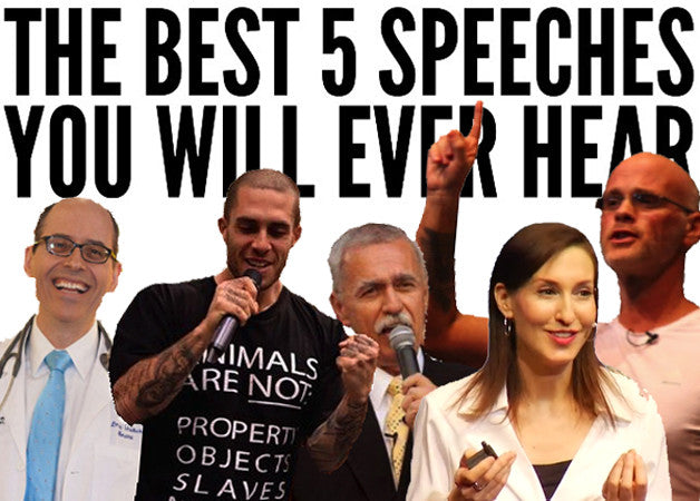 The Best 5 Speeches You Will Ever Hear