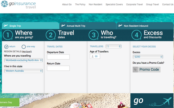InsuranceGo the cheapest travel insurance