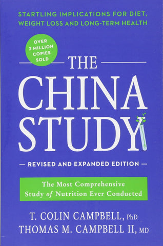 The China Study by T Colin Campbell Book Review on VomadLife.com