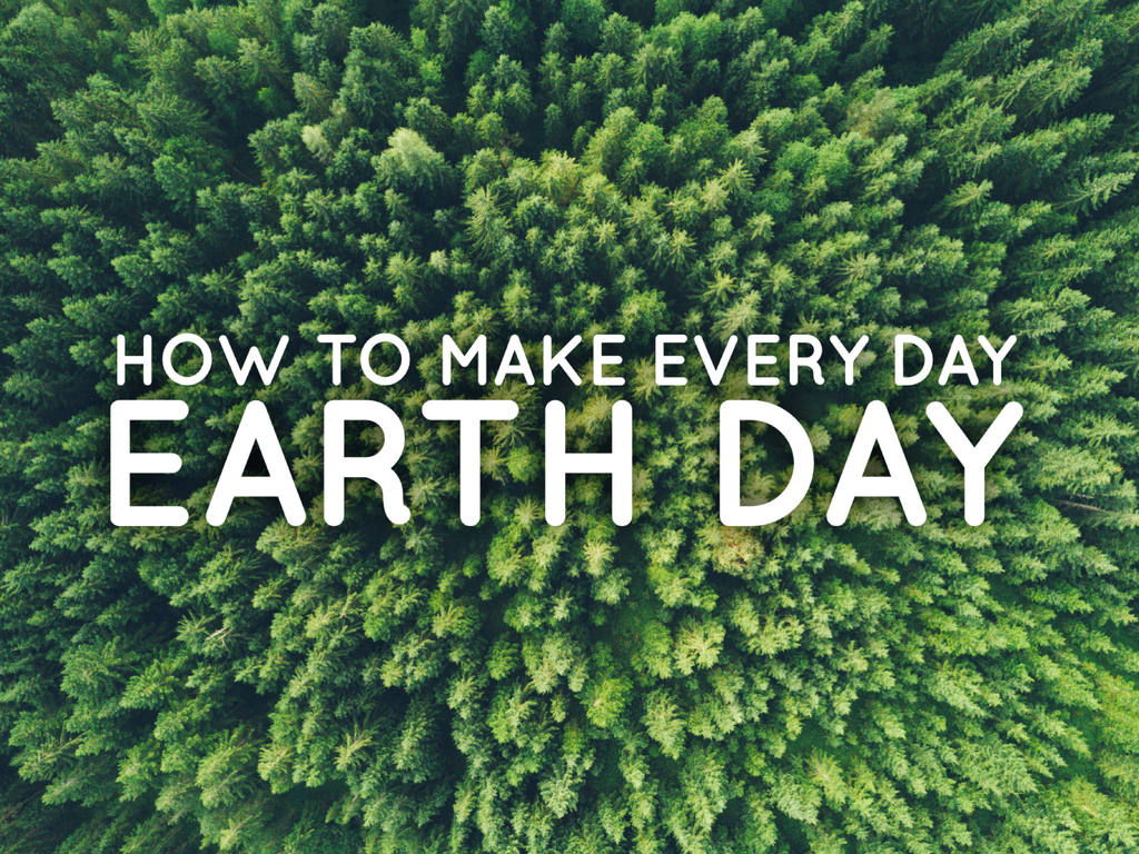 How to Make Every Day Earth Day - The Missing Piece from Earth Day - only on VomadLife.com