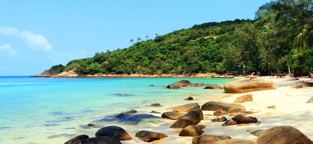 Haad Khom or secret Beach in Koh phangan. Image by welovekohphangan.com