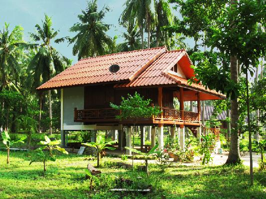 Typical house in Koh Phangan
