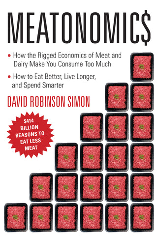 Meatonomics by David Robinson Simon Book Review on VomadLife.com