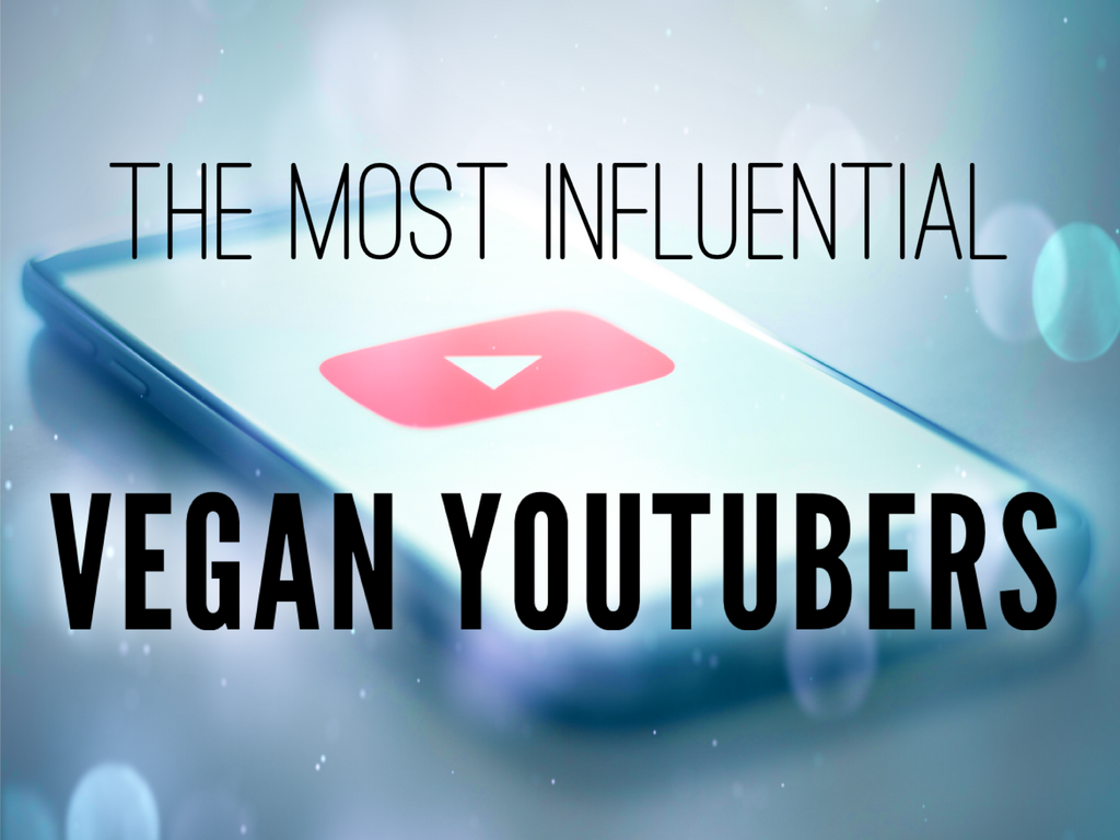 The Most Influential Vegan YouTubers - based on data from the 2019 Global Vegan Survey - only on VomadLife.com