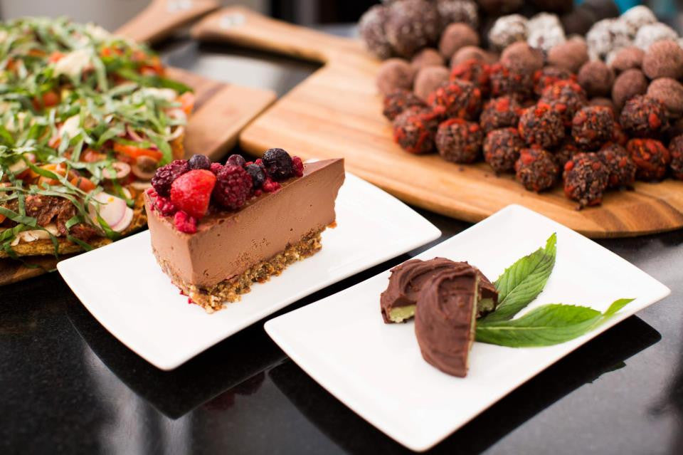 The Raw Kitchen deserts