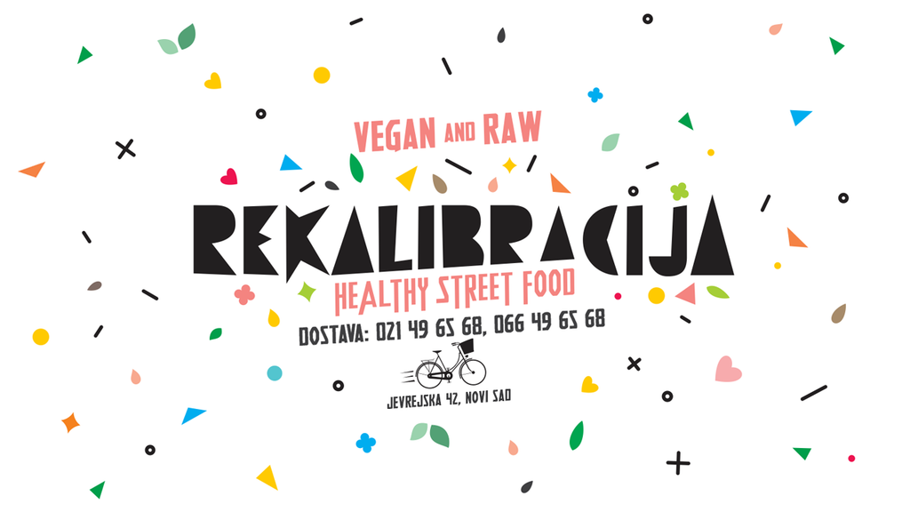 Rekalibracija Healthy Street Food - Novi Sad, Serbia - Full Vegan Review on VomadLife.com