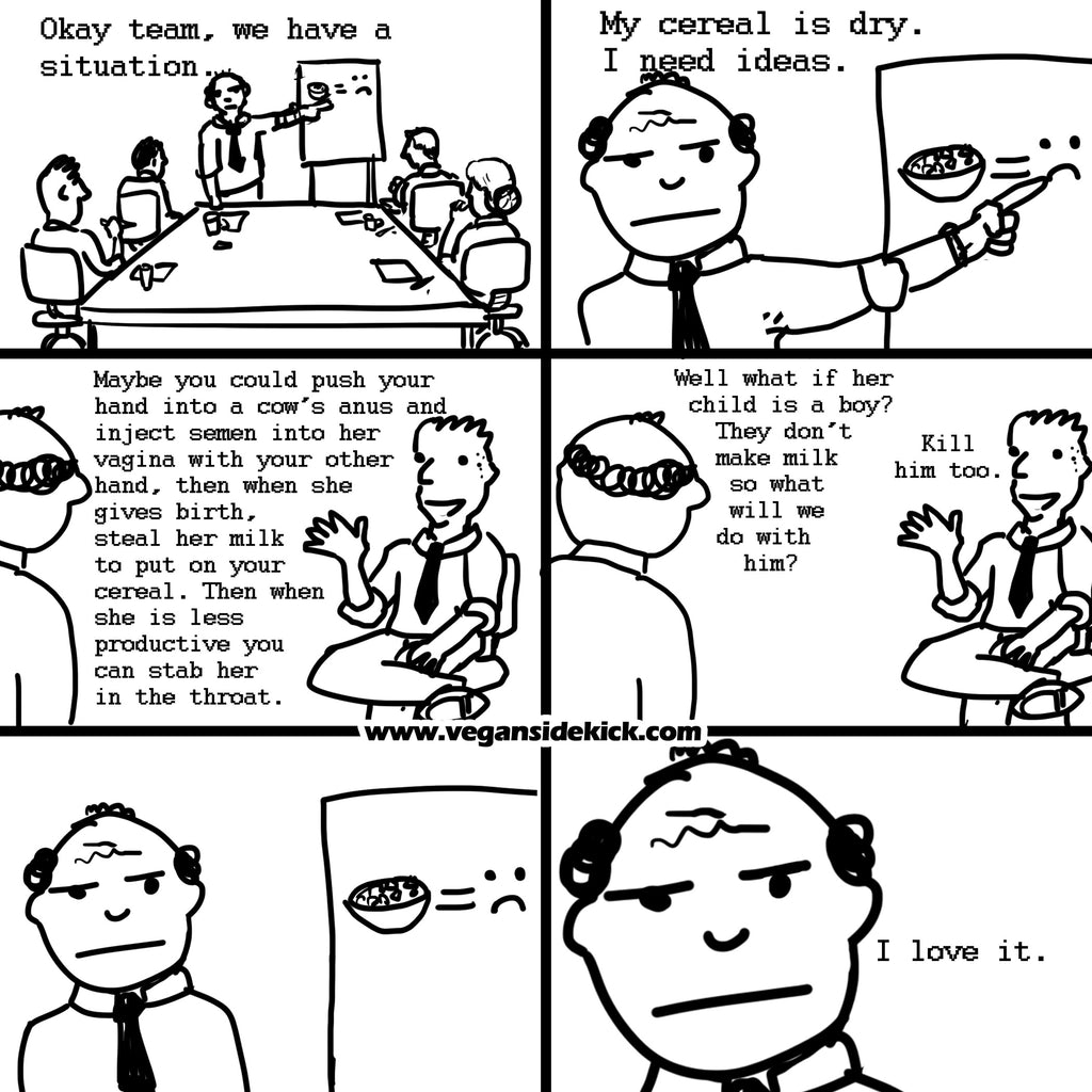 Top 5 Ways to Trigger Vegans - VeganSideKick.com featured on Vomad.Life VomadLife.com