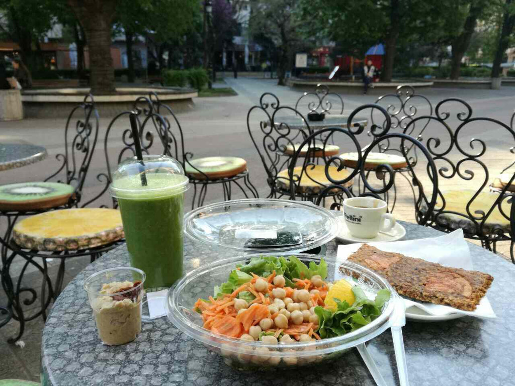 Vitafix health food store in Plovdiv, Bulgaria - Full Vegan Review on Vomad.Life VomadLife.com