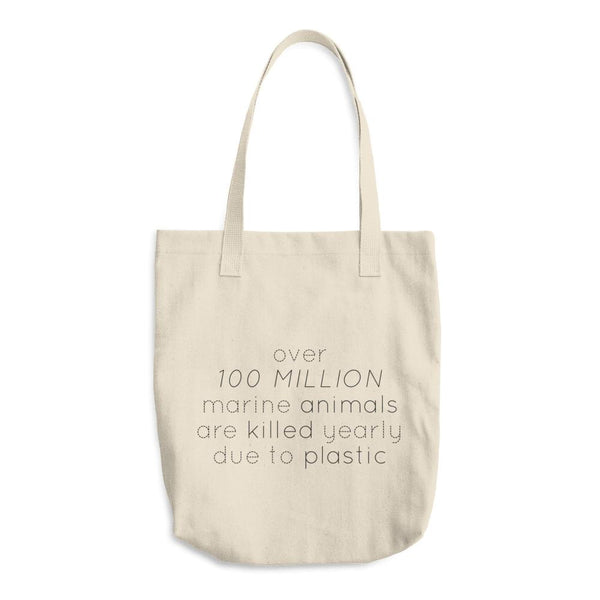 Plastic Kills - 100% Cotton Tote Bag