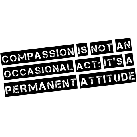 Compassion is an Attitude - Unisex T-Shirt (3 Colours)