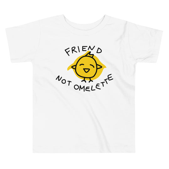 Friend Not Omelette - Toddler Tee (2 Colours)
