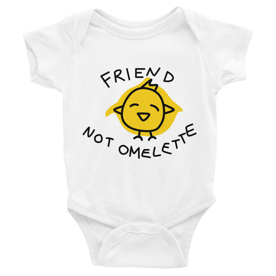 Friend Not Omelette - Infant Bodysuit (3 Colours)