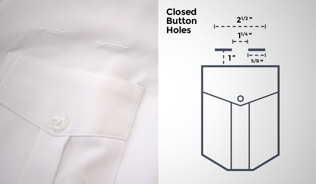 A Cut Above Uniforms Shirt Eyelets