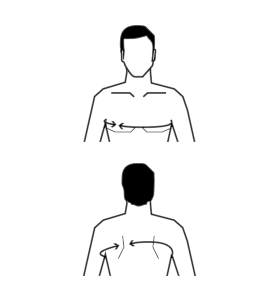 A Cut Above Uniforms Chest Measurement