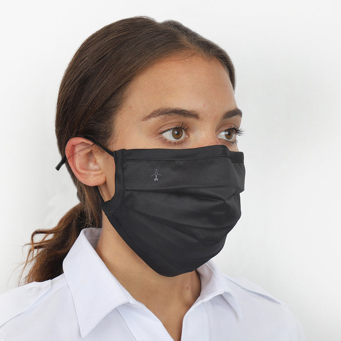 Pleated Face Mask-