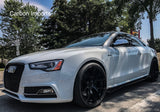 Audi A5/S5 B8 & B8.5 Carbon Fiber Side Skirts