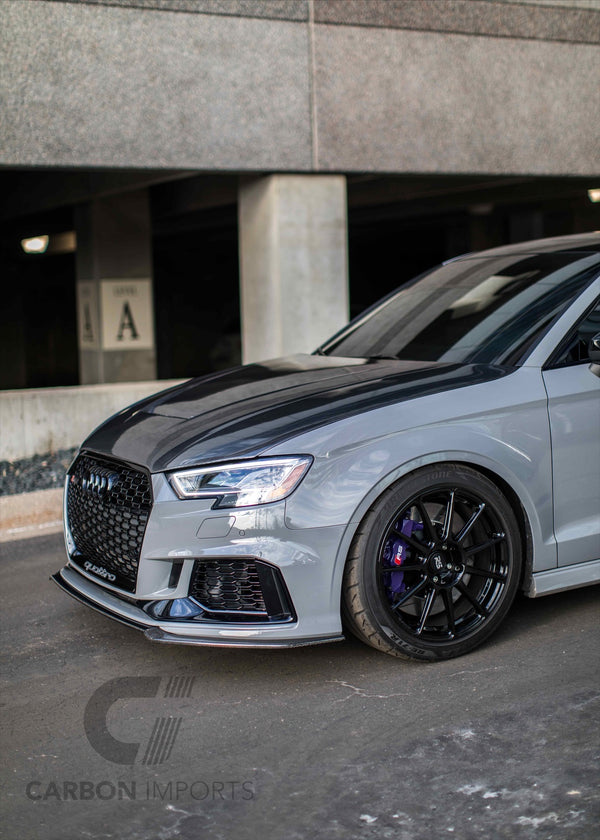 Audi RS3 Carbon Front lip 2017-2020